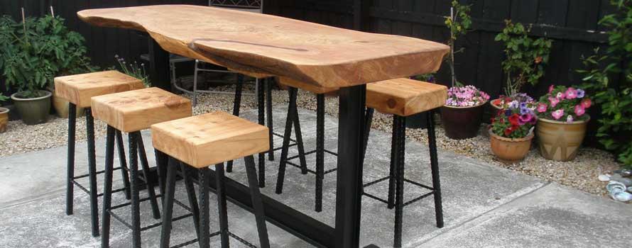 wood n steel furniture signs shelters macrocarpa rh woodandsteel co nz outdoor steel furniture for sale outdoor steel furniture south africa